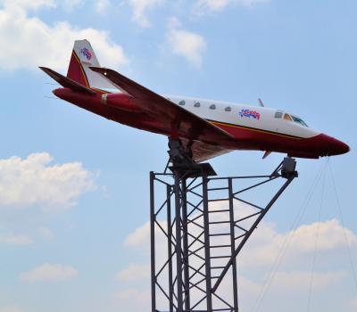 Avión en Exhibición