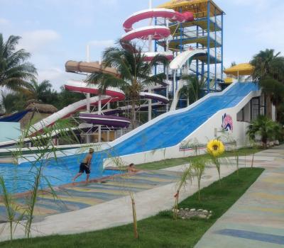 Toboganes en Nuevo Vallarta Riviera Nayarit